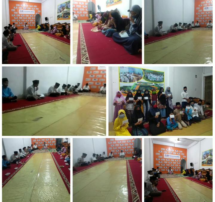 Pembacaan Yasin DAn Doa 19 juni 2020 bersama Anak Yatim Piatu & Dhuafa