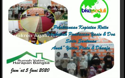 PELAKSANAAN KEGIATAN RUTIN 5 JUNI 2020